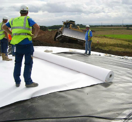 Non Woven Geotextile Application