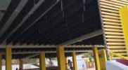 μονωτικό aritherm για δημιουργία ηχοπαγίδας σε οροφή